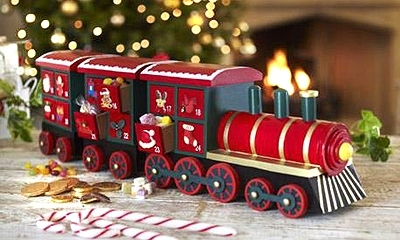karácsony kisvonat
