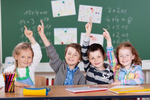 Deutsches Schulsystem - Kinder in der Schule