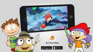 Da Vinci Kids App trailer_cover