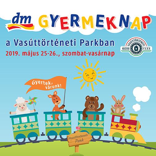 Vasúttörténeti Park_dm Gyermeknap 2019