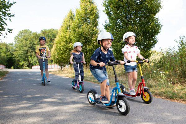 Roller-Verkehrserziehung-Kinder-Balance-Gleichgewicht-Bewegung-Motorik